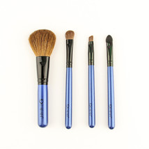 4Pcs Professional Goat Hair Makeup Brushes Set Make up Brushes Cosmetic Tool Kit - $8.98
