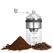 MICOCAH Manual Coffee Grinder with Adjustable Setting, Burr Grinder for ... - $54.99