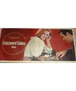 Scrabble Crossword Cubes Games - $4.90