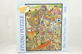 Bits and Pieces Len Epstein Mayhem At Gulch Thorpe Sta Jigsaw Studio Puzzle 1000 - $14.03