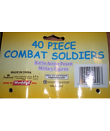 Military -Combat Soldiers - 40 Pieces - $5.95