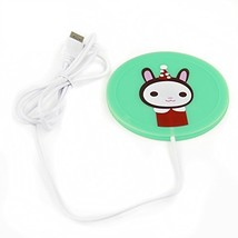 eSmart Cute Soldier Rabbit Cartoon Hot Office Desk Cup Warmer USB Powere... - £7.49 GBP