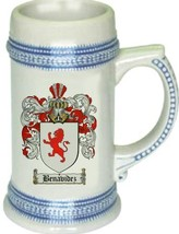 Benavidez Coat of Arms Stein / Family Crest Tankard Mug - $21.99