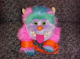 "10"" My Pet Monster Wogster Puppet Plush Toy With Cuffs 1986 - $93.49"