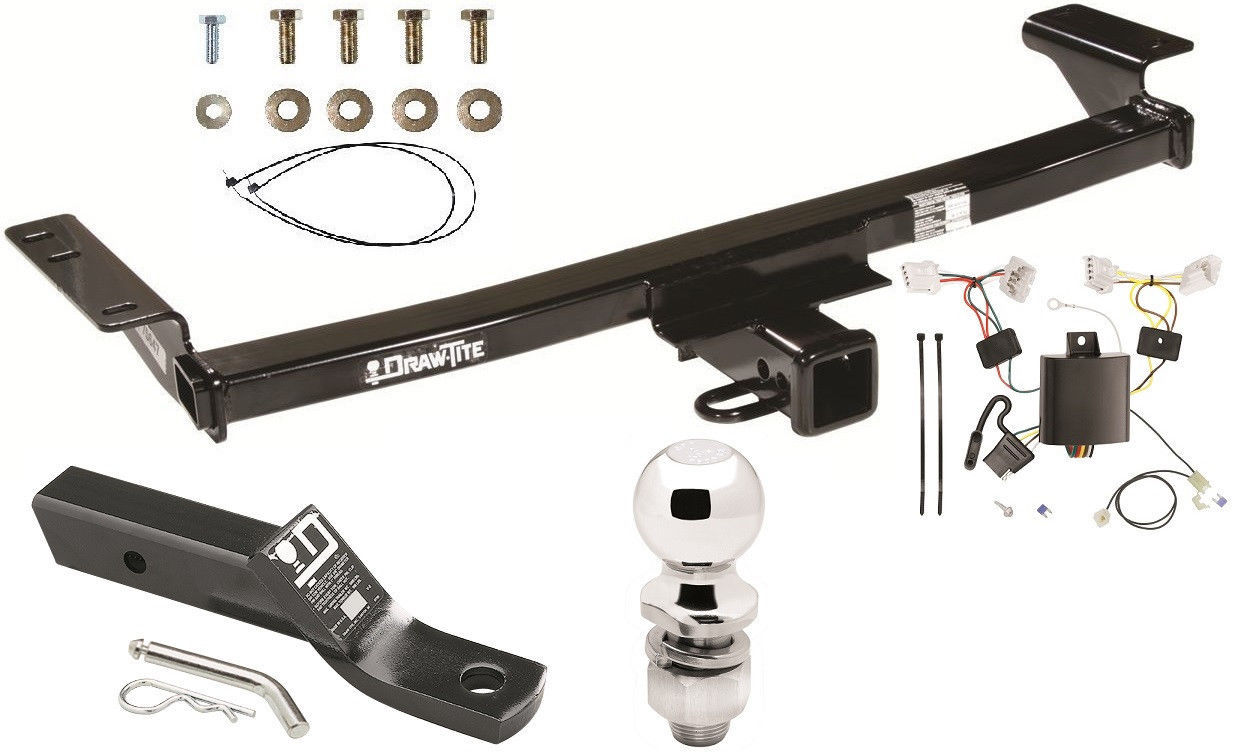 COMPLETE TRAILER HITCH PKG W WIRING KIT BALL & MOUNT FOR 2009-2014 NISSAN  MURANO - $216.76