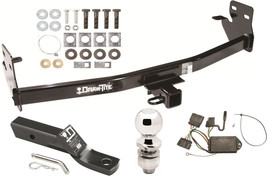 2007-2008 ISUZU I-290 I-370 COMPLETE TRAILER HITCH PACKAGE W/ WIRING KIT... - $229.57