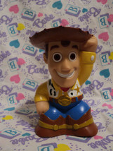 "Disney TOY STORY Woody 4.5"" Squeak Baby Bath Tu... - $4.95"