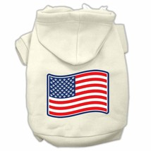 DOG SWEAT SHIRT boxer collie lab pit bull DOG HOODIE US FLAG clothes USA... - €14,42 EUR