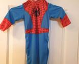 Disguise Spider Man Spiderman 2 Piece Costume Sz 12-18 Mos