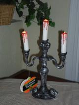 """Halloween 14"""" Flickering Light Candelabra - $24.99"""