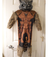 Rubies Guardians of the Galaxy Rocket Raccoon Deluxe Costume Child Sz Small - £22.79 GBP