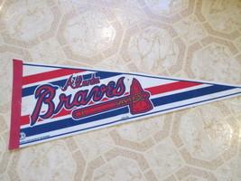 Atlanta Braves Vintage Baseball Pennant 1997 Old MLB Baseball pennant. S... - $14.99