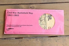 Reproduction Civil War Map on period paper - $34.65