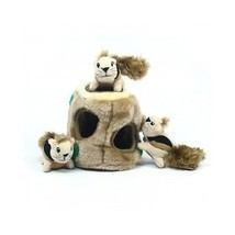Plush Hide-A-Squirrel Squeaky Interactive Dog Toy Fun 4 Piece Stuffed P... - $23.75
