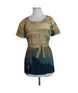 Vera Wang Camouflage Tunic Top Blouse Nwot  - $25.00