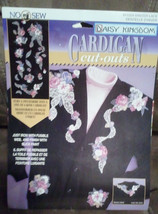 Daisy Kingdom Winter Lace 11504 Cardigan Cut Outs / Appliqué New image 1