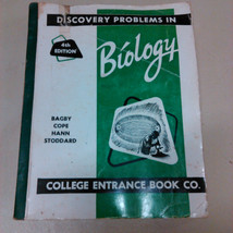 Discovery Problems in Biology 4th edition 1960's - $3.99