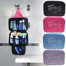 Cosmetic Organizer Bag Travel Hanging Toiletry Makeup Storage Pouch Acce... - $171,91 MXN