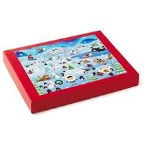 Frosty Friends Puzzle Hallmark 2016 Jigsaw 530 Pieces Create Family Fun ... - $49.49