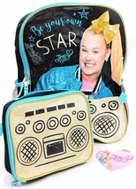 "JOJO SIWA DANCE MOMS 16"" Full-Size Backpack w/Detachable Insulated Lunch... - $22.99"