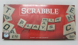 Hasbro Scrabble Game Made in the USA New Sealed in Box - $19.77