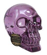 Atlantic Collectibles Pirate Cave Tomb Treasure Purple Acrylic Resin Tra... - $34.64