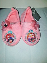 Disney Store Princess Pink Slippers for Girls Sz 11/12 - $19.99