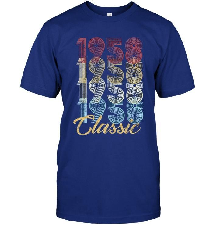 874921998 60th Birthday Gift Vintage 1958 T Shirt Men and similar items