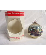ORIGINAL 1978 Currier & Ives Old Grist Mill Christmas Ornament NEW  - $13.99