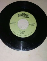 One And One Make Two Just One Me New Sealed Sesame Street 45 RPM Record ... - $18.50