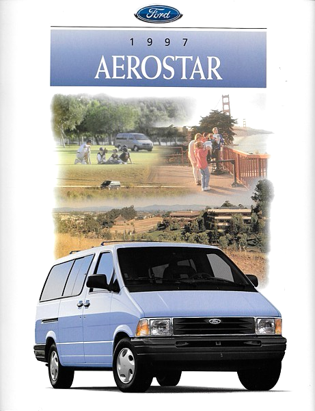 Primary image for 1997 Ford AEROSTAR sales brochure catalog 97 US