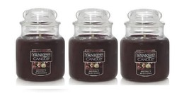 Yankee Candle Moonlit Blossoms Small Jar Candle Single Wick - Lot of 3 - $39.99