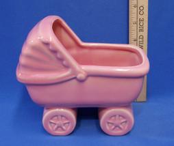 Vintage Ceramic Pottery Haeger Pink Planter Bab... - $16.82