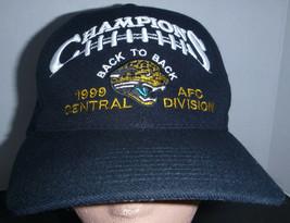 Jacksonville Jaguars Back To Back 1999 AFC Central Division Champion Vintage Hat - $14.84