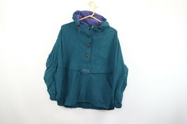 Vintage 90s Columbia Mens Small Spell Out Hooded Outdoor Anorak Jacket C... - $49.45