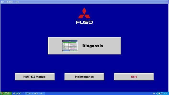 Mitsubishi Fuso MUT III 1.11 - Diagnostic System For All Fuso Truck and Bus Mode