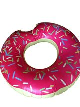 Swim About Large Donut Swim Ring Tube Pool Inflatable Floats for Adults (Pink) image 4