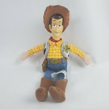 "Disney Pixar Toy Story Woody 11"" Plush Cowboy Sheriff Soft Doll Stuffed ... - $19.35"