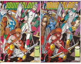 Image Youngblood Lot #0 Both Covers Rob Liefeld Action Adventure - $4.95