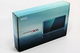 Nintendo 3DS Console System Aqua Blue Console From Japan Excellent Condition - $149.56