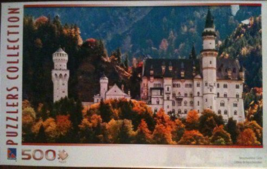 "500 Piece Puzzle ""Neuschwanstein Castle"" [Brand New] - $32.52"
