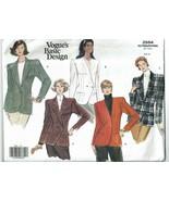 Vogue Sewing Pattern 2554 Misses Petite Jacket Size 6 8 10  - $11.69