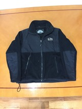 Men's Weatherproof Black Fleece Jacket Size Small S St. John's Universit... - $19.79