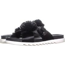 Nine West Feel the Luv Slide Sandals 187, Black, 8 US - £17.97 GBP