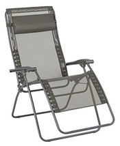 Lafuma Großer Relax-Liegestuhl, Klappbar und (Graphite|Batyline XL) - $318.05