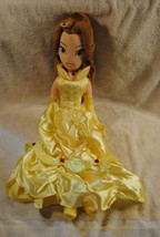 """Disney Store 21"""" Beauty And The Beast Princess Belle Soft Plush Doll - $27.99"""