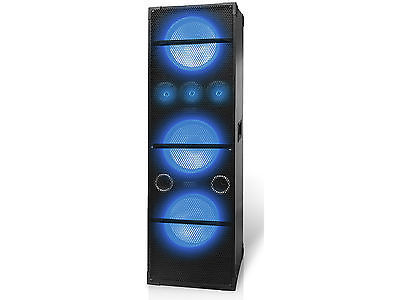 "Pair of (2) Technical Pro MP310 Professional triple 10"" LED Speaker"