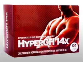 Hyper Gh 14x 1 Month Natural Boosts Strength From Workout L EAN Rock Hard Muscles - $34.95
