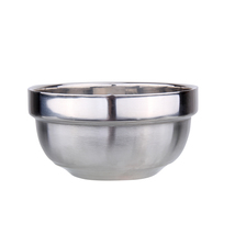 High Quality Eco-Friendly Bowl Classic Anti-Rust 304 Stainless Steel Lot... - $18.00