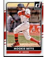 2016 Donruss #118 Mookie Betts NM-MT Red Sox - $1.25